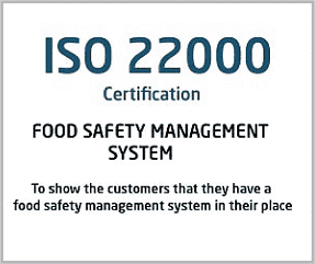 ISO 22000 Certification Italy