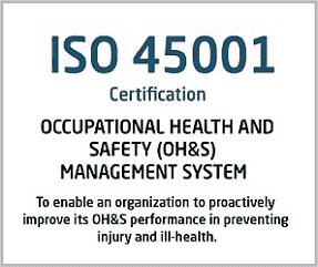 ISO 45001 Certification Italy